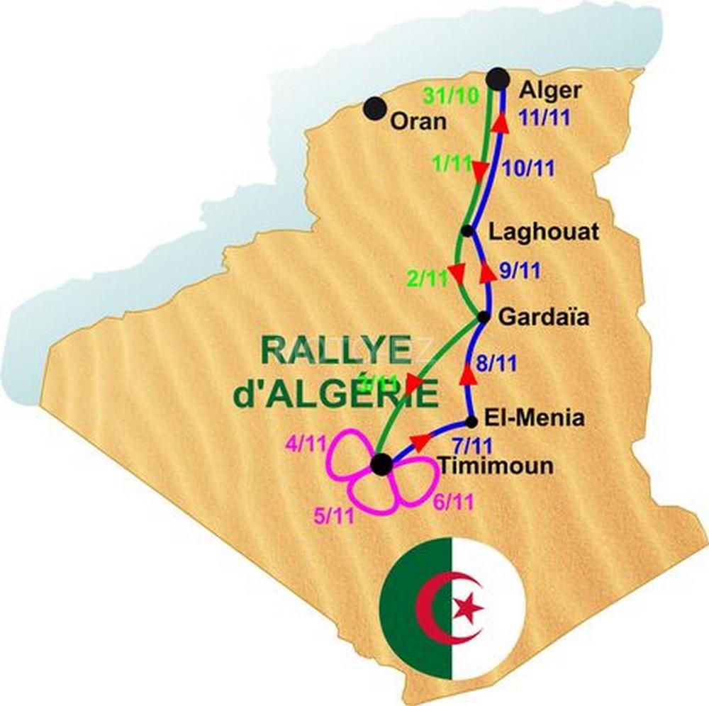 4e Rallye international d'Algérie : 89 pilotes ont confirmé leur participation