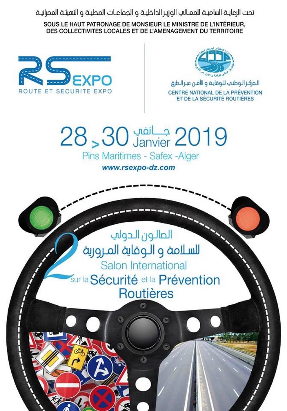 Salon International de la Sécurité et la prévention routière, RS EXPO 2019