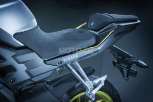 YAMAHA Algérie : MT-125 proposée en coloris gris/jaune !