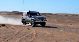 """Rallye/ """"Challenge Sahari international"""" : début de la 3ème étape sur une distance de 239 km"""