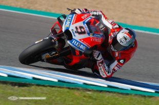 MotoGP 2018 : Essais officiels à Jerez, jour un pour Petrucci et Dovizioso.
