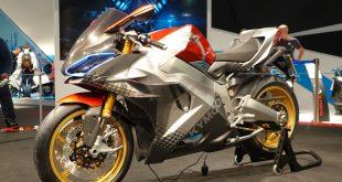 Kymco SuperNEX : supersportive électrique à vitesses