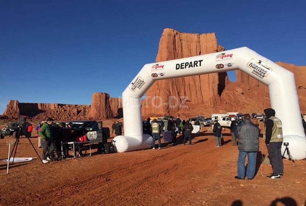 """Rallye """"Challenge Sahari international"""" / 1ère étape : coup d'envoi de la 4ème édition"""
