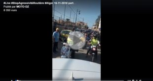 #Live Stop Agressivité Routière (FB) : départ de l'opération de sensibilisation vers Bechar