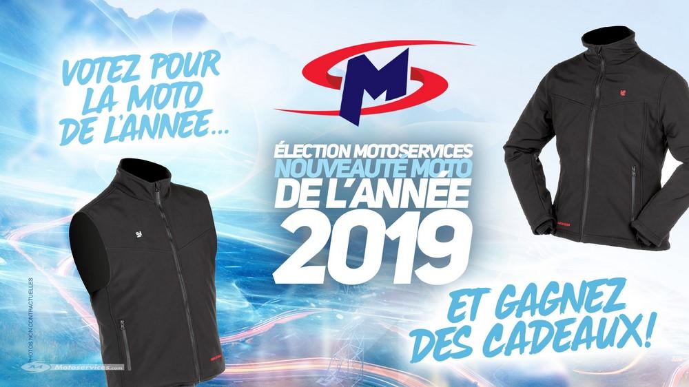 Election de la nouveauté moto 2019 : jouez et tentez de gagner !