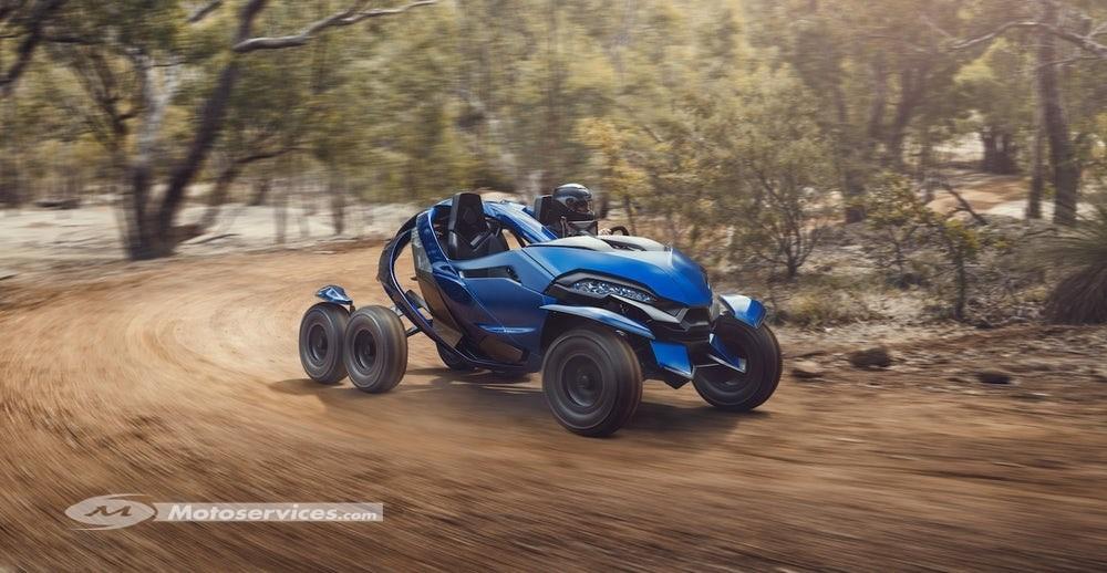 Ferox Azaris : 6 roues et un coeur de R 1200 GS !