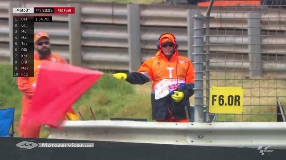 MotoGP 2019 : Nouvelles règles en cas d'arrêt de la course au drapeau rouge