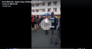 #Live Challenge Sahari 2018 (FB) : départ du 4ème Rallye Raid à Alger