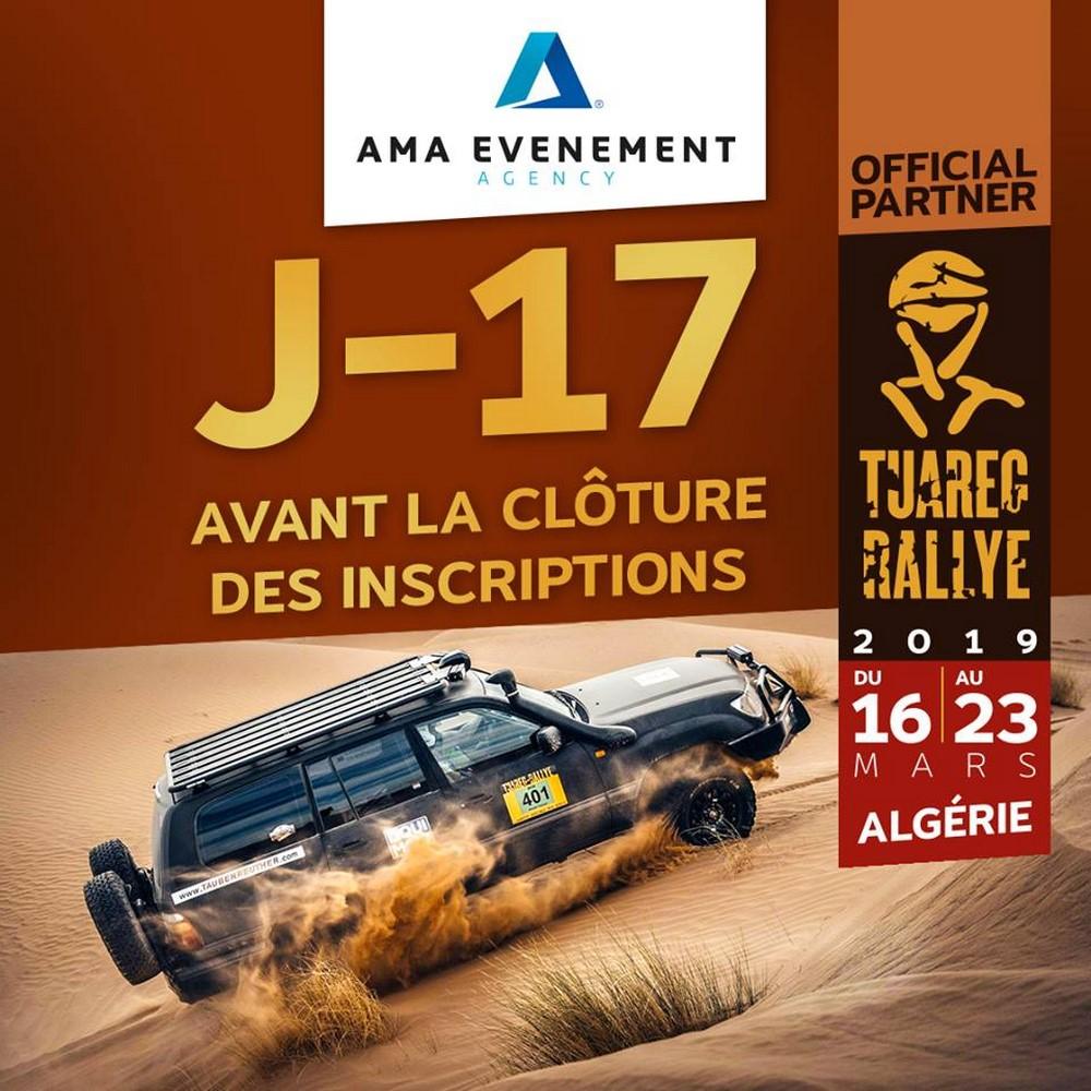 Tuareg Rally 2019 : dernier délai pour les inscriptions