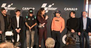 Les équipes de MotoGP sont en place à Canal Plus …