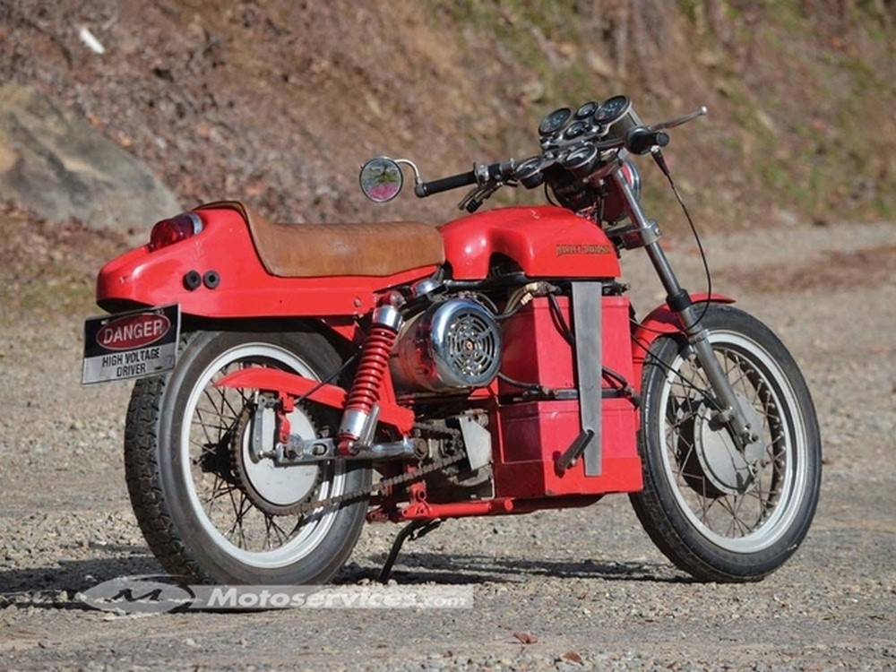 40 ans avant la LiveWire, la première Harley électrique !