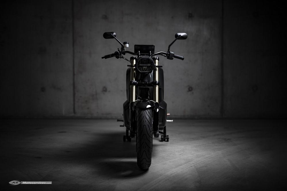 NXT Motors : la moto électrique en carbone