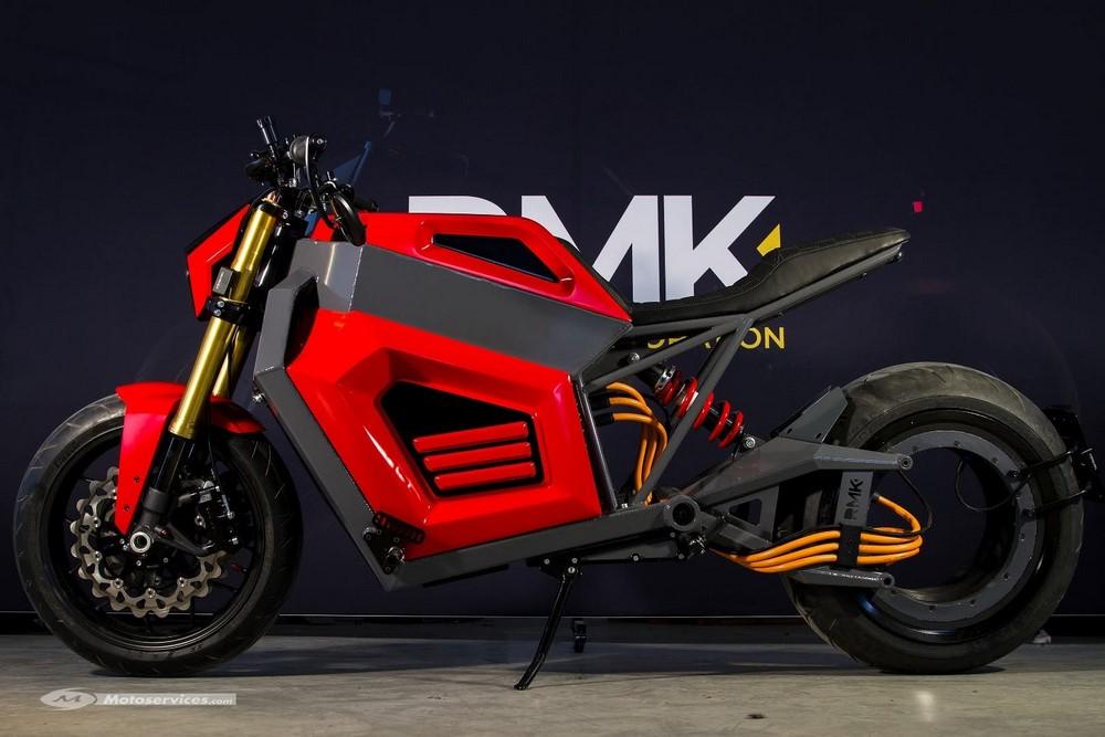 Prototype RMK E2 : l'électrique sans moyeu