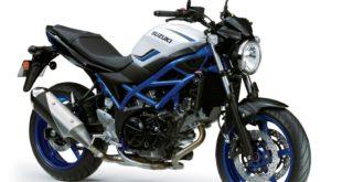 Suzuki SV650 2019 : freinage amélioré !