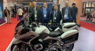 SECURA NORTH AFRICA 2019 à Alger : BMW R 125 RT-P en Première Mondiale