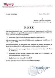 FASM 2019 : ouverture des inscriptions pour l'obtention des licences auto/moto