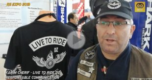 # Vidéo RS EXPO 2019 (FB) : interview de Karim Cherif - LIVE TO RIDE DZ