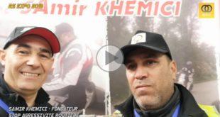 #Vidéo RS EXPO 2019 (FB) : interview de Samir Khemici - STOP AGRESSIVITÉ ROUTIÈRE