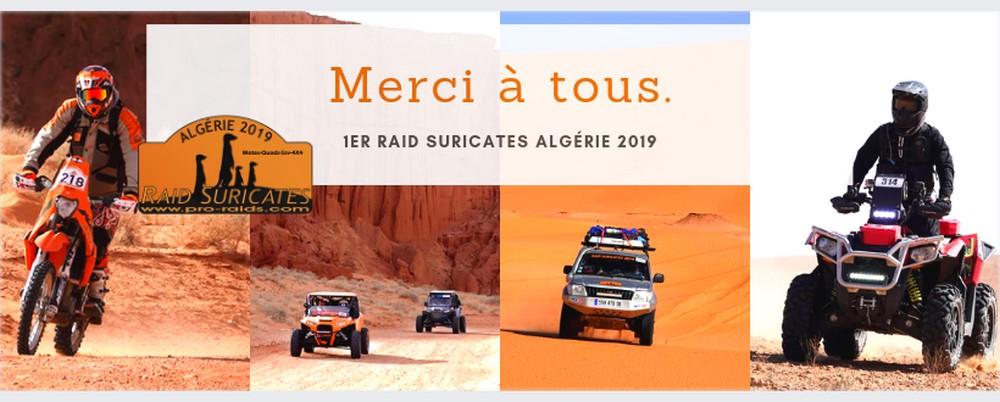 Rallye Raid Suricates 2019 : Résultats et classement 4X4, Motos et SSV