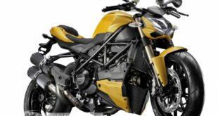 Une Ducati Streetfighter V4 en approche