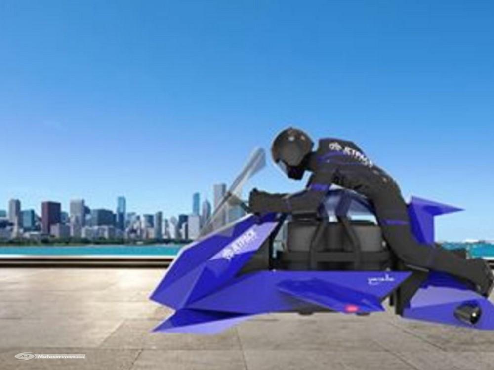 Jetpack Speeder, la moto volante