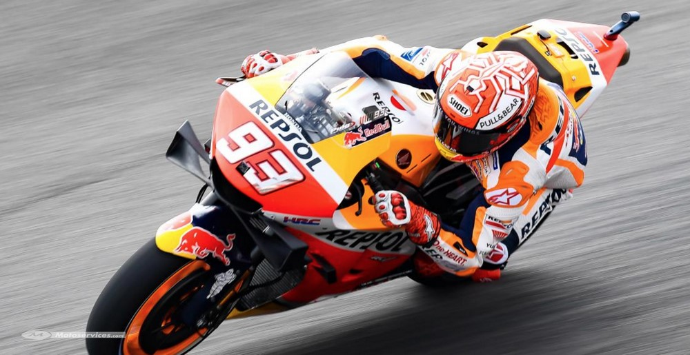 MotoGP d'Argentine : Marquez domine la FP1