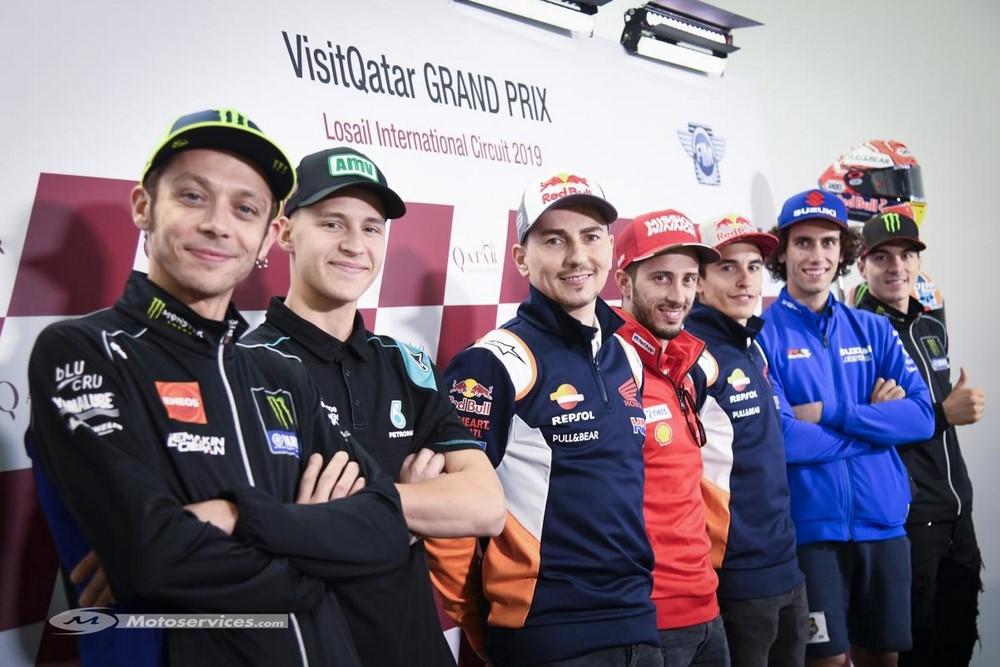 MotoGP 2019 : A Losail, on vote pour avancer l'heure de la course.