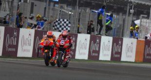 MotoGP 2019 à Losail : Dovizioso 23 millièmes devant Marquez !