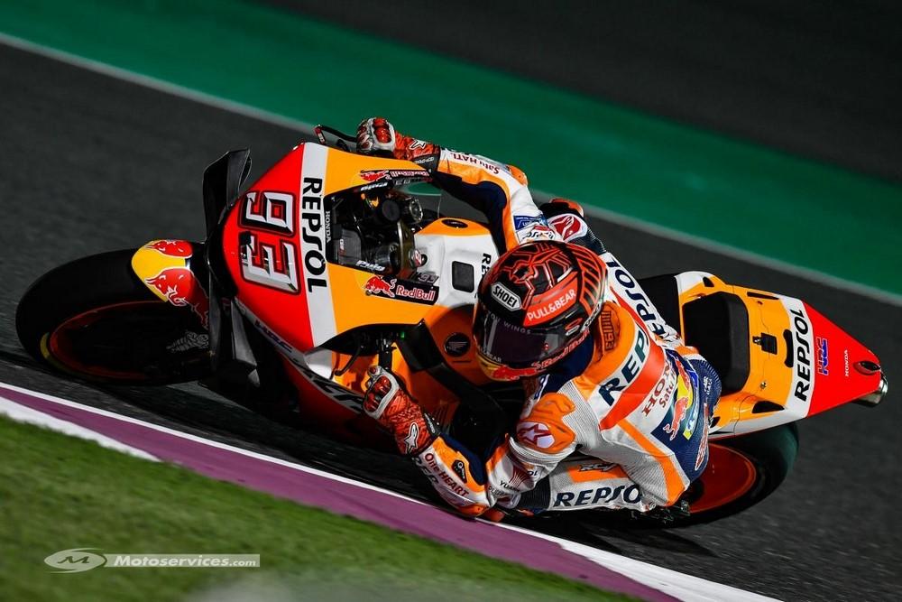 MotoGP 2019 au Qatar : Jour 1, Marquez premier bourre pif, record absolu du tour.