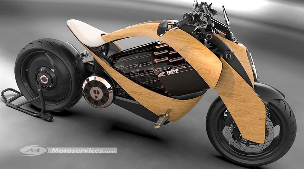 Newron, une nouvelle moto électrique française