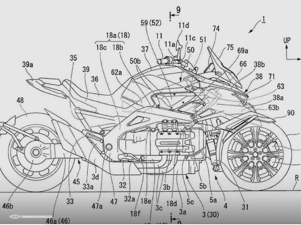 Le gros trois roues Honda se précise