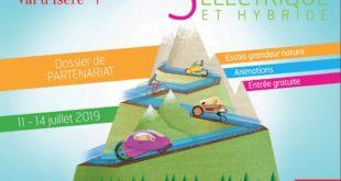 5è salon du véhicule électrique, Val d'Isère : du 11 au 14 juillet