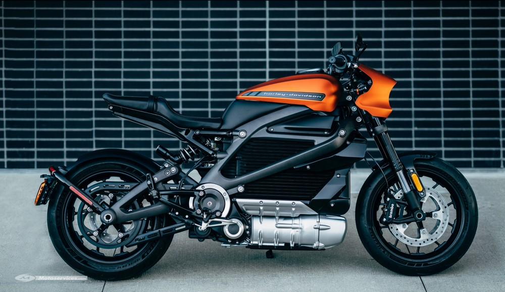 Les commandes sont ouvertes pour la Harley-Davidson LiveWire
