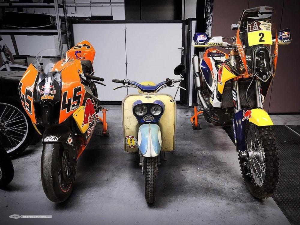 KTM ouvre son musée : bienvenue au MotoHall