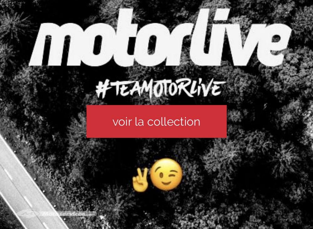Motorlive lance sa collection de produits dérivés #teamotorlive