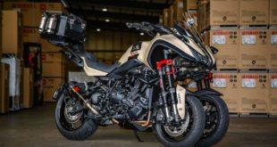 Un turbo pour le Yamaha Niken !