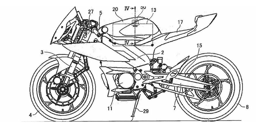 Yamaha travaille sur des R1 et MT-07 électriques...