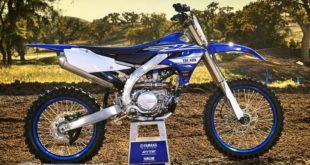 Yamaha rappelle les YZ250F / YZ450F : problème d'étiquette !