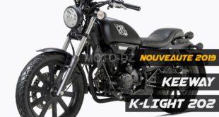 Keeway Algérie : K-Light 202, détails, disponibilité et tarif 2019