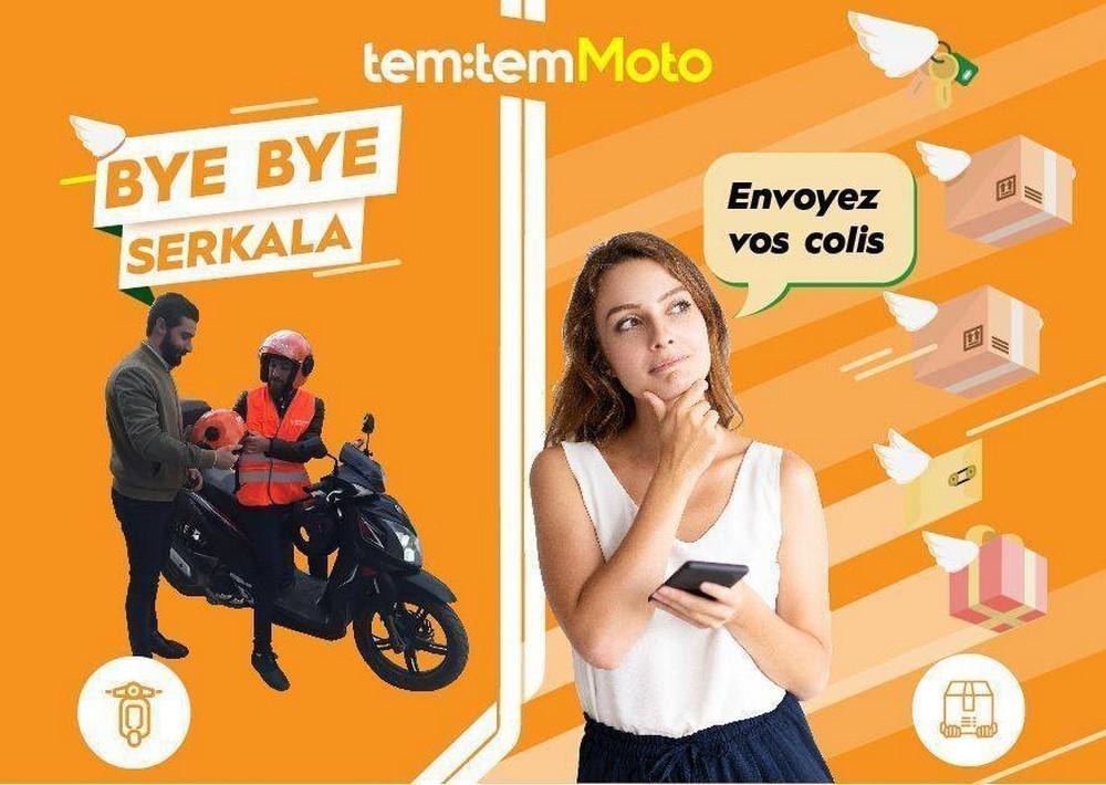 Tem:Tem Moto : Lancement du transport de passagers et livraison rapide à 2 roues