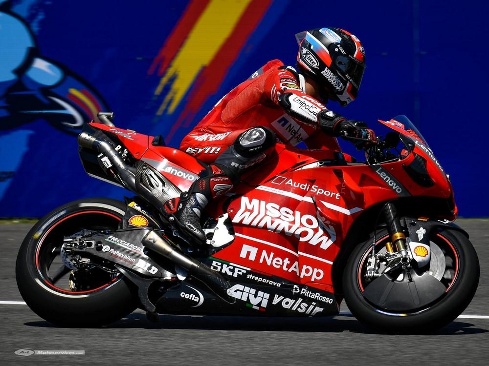 Moto GP 2019 au Mans : Pas de Winnow sur les Ducati