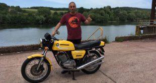 La moto classique de la semaine : Motobécane 350