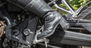Test bottes moto Vanucci Lady VTB 18 : le touring à talons