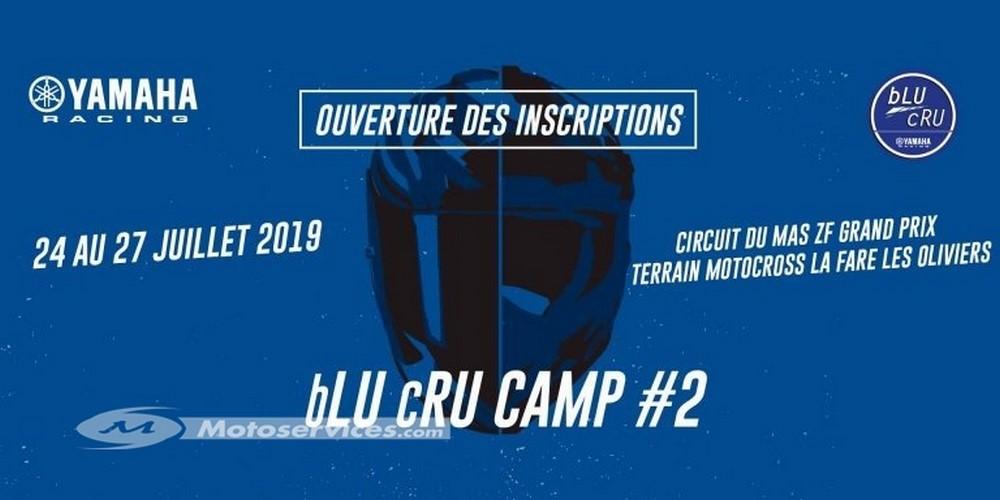 Yamaha bLU cRU CAMP saison 2 : inscrivez-vous !