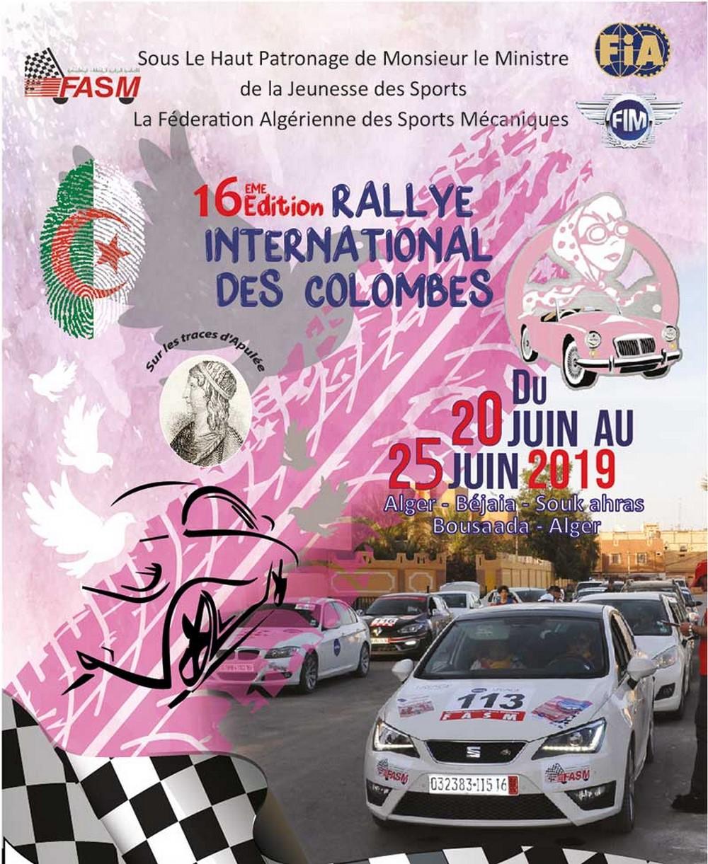 Rallye des Colombes 2019 : inscription, programme et détails