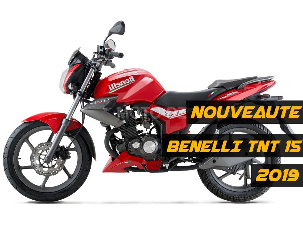 Benelli Algérie : TNT 15, détails, disponibilité et tarif 2019