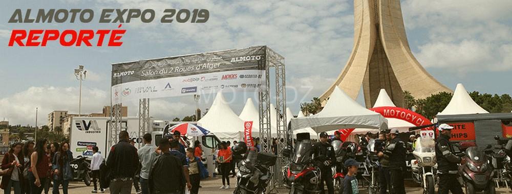 ALMOTO EXPO 2019 : le Salon de la Moto reporté à une date ultérieure