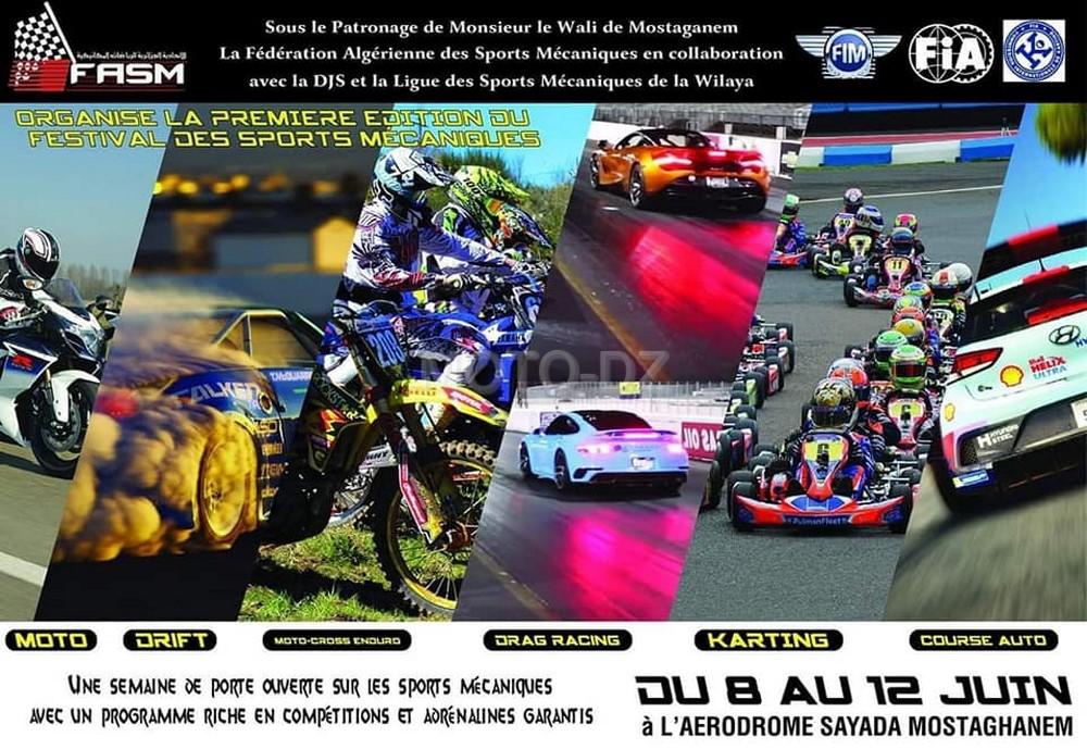 Report du Festival de Mostagamen des Sports Mécaniques