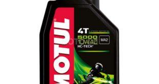 Idée Shopping : Motul 4T 5000 10W40, l'huile multifonction !