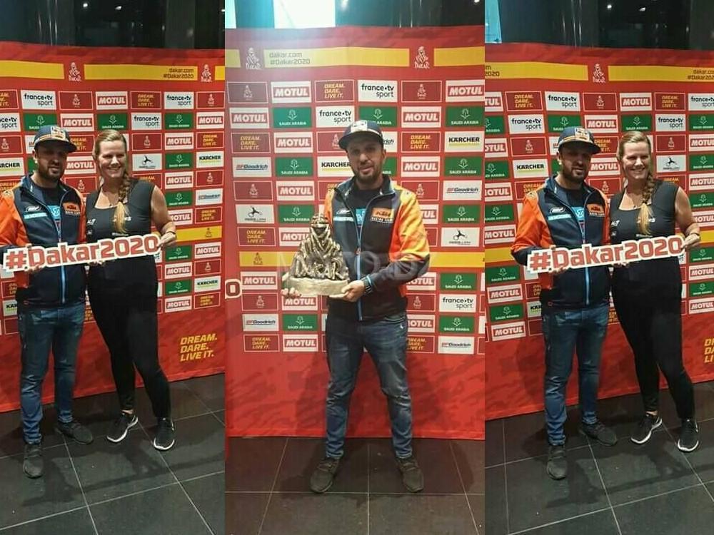 Dakar 2020 : Mebarki Abdelkader, le 1er pilote moto algérien !
